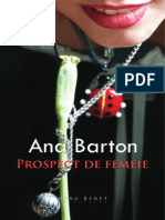 Prospect de femeie - de Ana Barton (Fragmente)