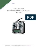 TARANIS X9D Digital Telemetry Radio System User Guide-V1.0.00