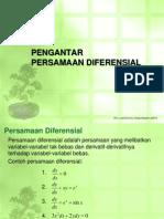 Tm-1 - (18 Pebruari 2014) - Pengantar Persamaan Diferensial