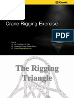 Crane Rigging Exercise By Kiewit