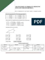 Integrales Por Sustituciones Trigonométricas