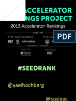 Seed Accelerator Rankings Project -SxSW