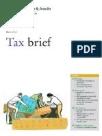 Tax Brief - March 2012