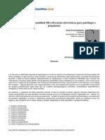 Psicologiapdf 16 Trastornos de La Personalidad 100 Referencias Electronicas Para Psicologos y Psi