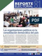 Reporte Electoral N° 81