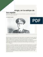 Isidoro Gilbert. Juan Domingo, En La Estirpe de Los Espías.