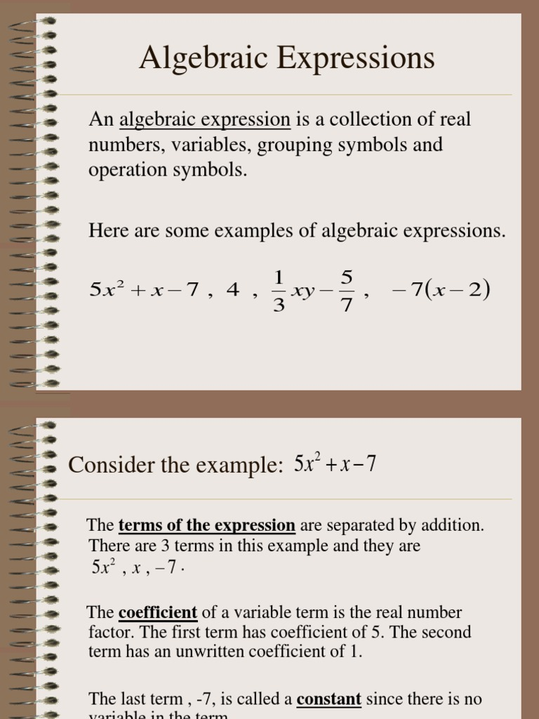 Algebraic expressions for class variable mathematics algebraic expressions for class variable mathematics abstract algebra biocorpaavc Choice Image