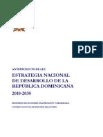 Anteproyecto de Ley de END RD 2010 2030