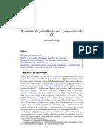 Fidalgo Antonio Ensino Jornalismo Internet