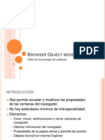 Browser Object Model