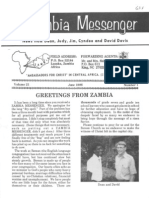 Davis Dean Judy 1986 Zambia