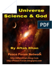 The Universe Science and God