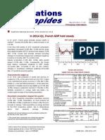 France – GDP 1Q2014