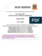 Son Rise Riders July 2009