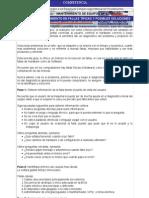 Manual de Deteccion de Fallas y Posibles Soluciones