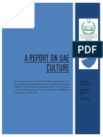 A Report on UAE Culture