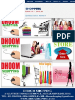 Dhoom Shopping Copy