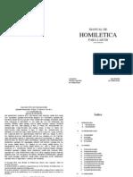 MANUAL de Homiletica Cap1