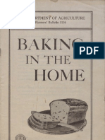 Baking in the Home