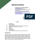 Derecho Notarial - Fernando Jesus Torres Manrique