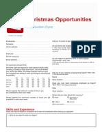 Application Form UK 2013