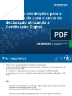 Manual Instalação Java e Certificado Digital