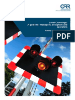 Level Crossings Guidance