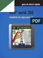 Nüvi 205-255 - Guía de Inicio Rápido
