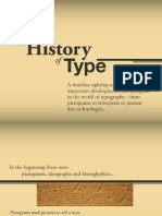 History of Type