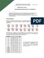 Practica 5 - BCD 7 Segmentos