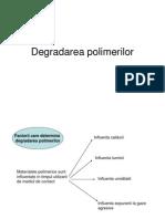 Degradarea Polimerilor