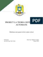 Andrei Badulescu Proiect Automatica