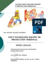 Uso del EPP