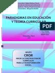 Exp Teoria y Praxis Curricular 9 de Mayo 2014