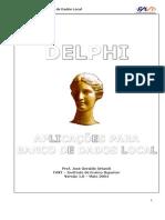 Apostila Delphi Banco de Dados Local