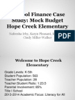 Hope Creek Elementary Presentation