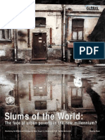 Slums of the World: The face of urban poverty in the new millennium?