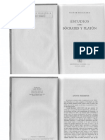 Brochard, Victor - Estudios Sobre Socrates y Platon. Ed. Losada