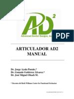 AD2 Articulator Manual (Spanish) 3-7-11