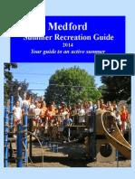 Medford Summer Recreation Guide 2014