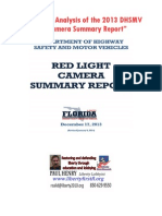 Paul Henry DHSMV 2013 RLC Report Analysis