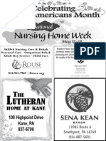 Older Americans Month - National Nursing Week