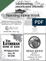 Older Americans Month - National Nursing Week