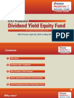 ICICI Prudential Dividend Yield Equity Fund Presentation