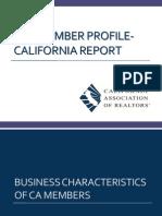 2013 California Member Profile