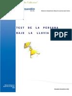 Dibujo de Persona Bajo La Lluvia by Luis Vallester
