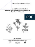 Medicinal and Aromatic Plants, In SE Europe