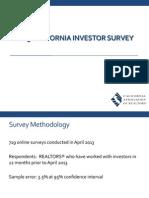 2013 California Investor Webinar
