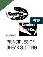 Principles of Shear Slitting
