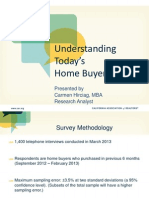 2013 Understanding Today's Home Buyer Webinar